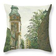St Johns Church Wapping From Scandrett Street Throw Pillow