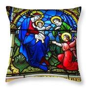 St Johns Church Wash Dc . Throw Pillow