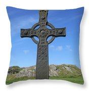 St John's Cross Throw Pillow
