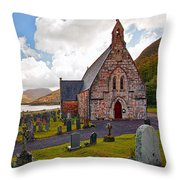 St  Johns Episcopal Ballachulish Throw Pillow