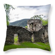 St. John's Episcopal Church Ruins  Harpers Ferry Wv Throw Pillow