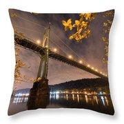 St. John's Splendor Throw Pillow
