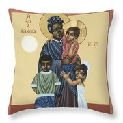 St. Josephine Bakhita Universal Sister 095 Throw Pillow