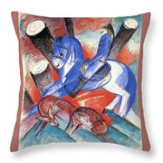 St Julian 1913 Throw Pillow
