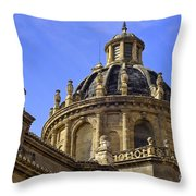 St Justo And Pastor Church Throw Pillow
