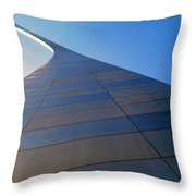 St. Louis Arch 2 Throw Pillow