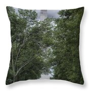 St Louis Arch Throw Pillow by Lynn Geoffroy