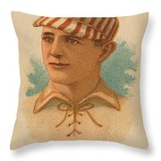 St. Louis Browns 1887 Throw Pillow