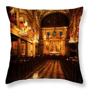 St. Louis Cathedral New Orleans - Textured Throw Pillow