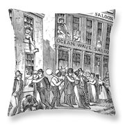 St. Louis, Missouri, 1878 Throw Pillow