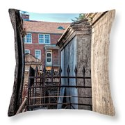 St Louis One And Iberville Throw Pillow