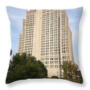St. Louis Skyscraper Throw Pillow