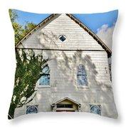 St. Luke African Methodist Episcopal Church - Ellicott City Maryland Throw Pillow