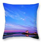 St. Lukes Anglican Church, Newtown Throw Pillow
