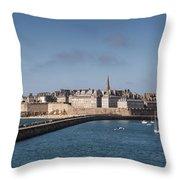 St Malo Throw Pillow
