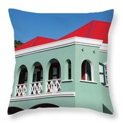 St Maratan  Throw Pillow
