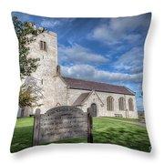 St Marcella's Church Throw Pillow