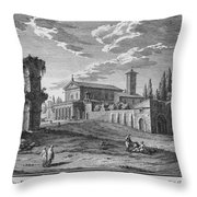 St Maria In Domenica Throw Pillow