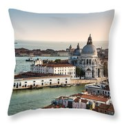 St Maria Of Salute Throw Pillow