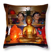 St Marks Altar Throw Pillow