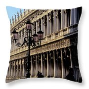 St. Mark's Square Venice Italy Throw Pillow