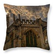 St Martin Coney Street In York Throw Pillow
