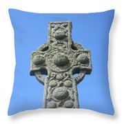 St. Martin's Cross Close Up Throw Pillow