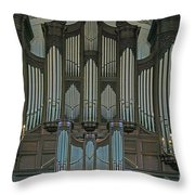 St Martins In The Field Organ Throw Pillow