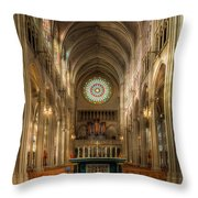 St. Mary Cathedral Basilica Of The Assumption Throw Pillow