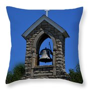 St Mary Magdalene Church Fayetteville Tennessee Throw Pillow