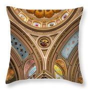 St. Mary Of The Angels Splendor Throw Pillow