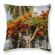 St. Mary's By The Sea Throw Pillow