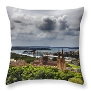 St Mary's Cathedral - Sydney Australia V2 Throw Pillow