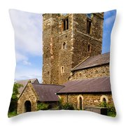 St Mary's Church Conway Throw Pillow