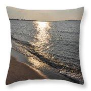 St Marys County Sunrise Throw Pillow