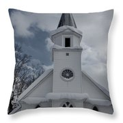 St. Marys Glenfield Ny Throw Pillow