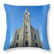 St. Mary's In Port Washington  Throw Pillow