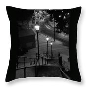 St. Mary's Stairs  Throw Pillow