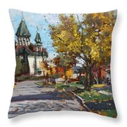 St. Marys Ukrainian Catholic Church Throw Pillow