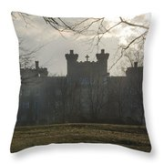 St Marys Villa For Children In Ambler Throw Pillow