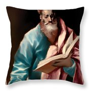 St Matthew Throw Pillow