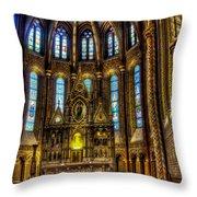 St Matthias Church Interior Throw Pillow