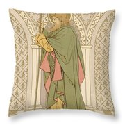 St Matthias Throw Pillow by English School