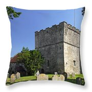 St Michael's Church - Shalfleet Throw Pillow
