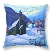 St Michaels Throw Pillow