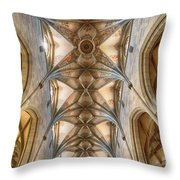 St. Nikolaus Munster Throw Pillow