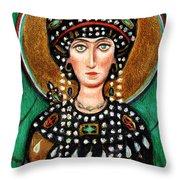 St Patricia Throw Pillow