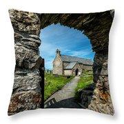 St Patrick Arch Throw Pillow