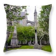 St Patricks Cathedral - Dublin Ireland Throw Pillow