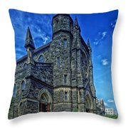 St Patrick's Church Throw Pillow